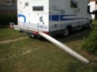 hliníková přepravní  rampa