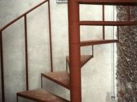 únikové ocelové schodiště