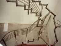 nerez schodiště