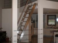 nerez zábradlí schody